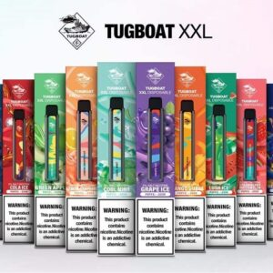 LETS VAPE TUGBOAT XXL DISPOSABLE PODS 2500 IN UAE (PUFFS) COVER