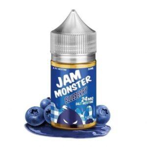 BLUEBERRY E-LIQUID SALTS JAM MONSTER