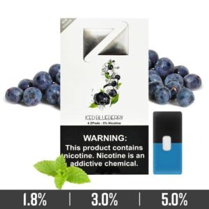 Iced Blueberry Ziip Pods Dubai for Juul Devices