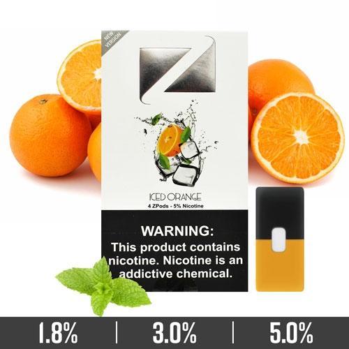 Iced Orange Ziip Pods Dubai for Juul Devices