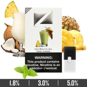 Iced Pina Colada Ziip Pods Dubai for Juul Devices