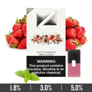 Iced Strawberry Ziip Pods Duba for Juul Devices