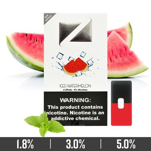 Iced Watermelon Ziip Pods Dubai for Juul Devices