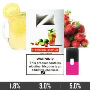 Strawberry Lemonade Ziip Pods Dubai for Juul Devices