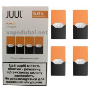 JUUL MANGO PODS 4 PACK DUBAI IN UAE