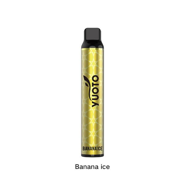 YUOTO LUSCIOUS DUBAI DISPOSABLE Banana ice
