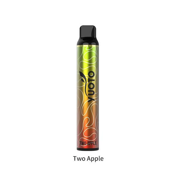 YUOTO LUSCIOUS DUBAI DISPOSABLE Two Apple
