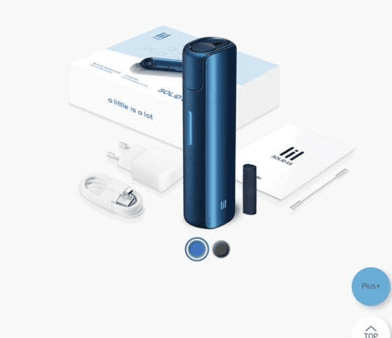 iqos lil solid 2.0 blue device in dubai